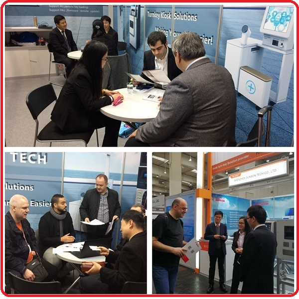 CEBIT 2017 SUNSON EXHIBITION Hannover, Germany March