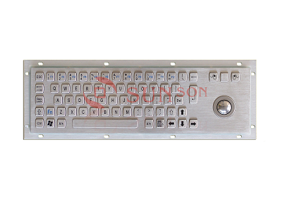 METAL KEYBOARD with touchpad SPC330AG