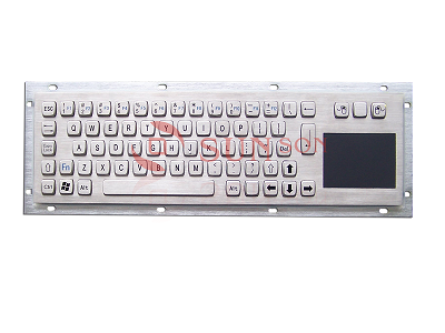 METAL KEYBOARD with touchpad SPC330AM